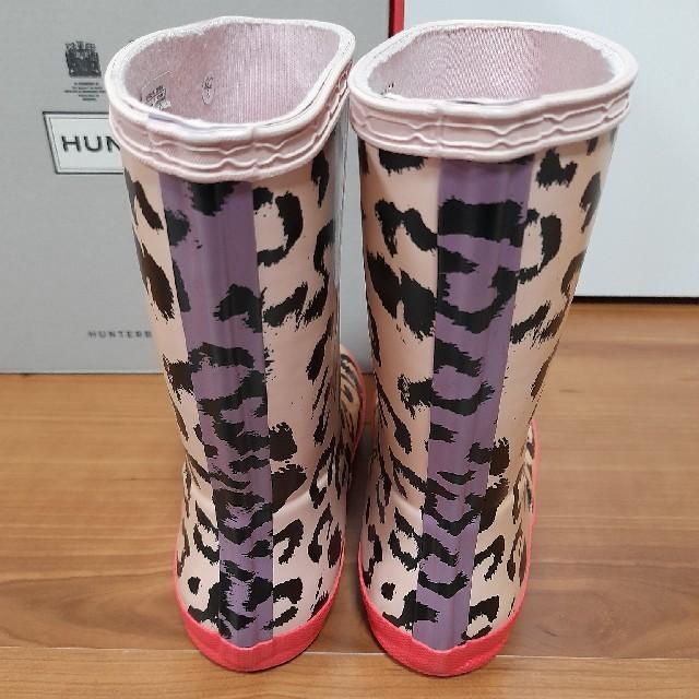 HUNTER(ハンター)のHUNTER ハンターレインブーツ長靴キッズ キッズ/ベビー/マタニティのキッズ靴/シューズ(15cm~)(長靴/レインシューズ)の商品写真