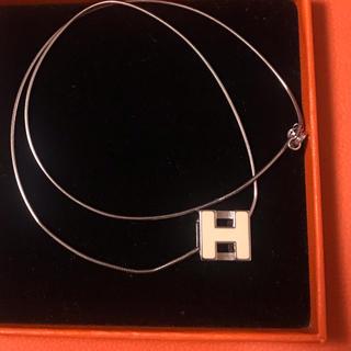 エルメス(Hermes)のエルメス Hキューブネックレス(ネックレス)