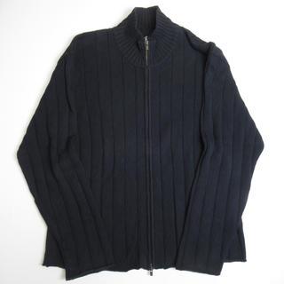 カルバンクライン(Calvin Klein)の【Trend】 90s Calvin klein ジップアップ ニットセーター(ニット/セーター)