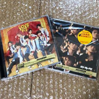 キスマイフットツー(Kis-My-Ft2)のKis-My-Ft2  シングル CD LOVE(初回盤A,B) 2枚セット(ポップス/ロック(邦楽))