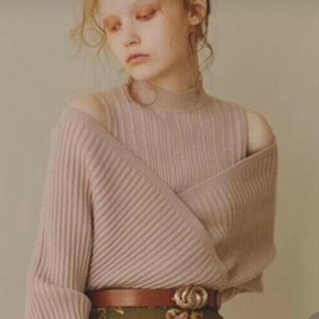 Lily Brown(リリーブラウン)のリリーブラウン レイヤーニット レディースのトップス(ニット/セーター)の商品写真