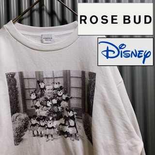 Disney - Disney × ROSE BUD コラボ ヴォルトディズニー スウェット