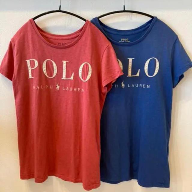 POLO RALPH LAUREN(ポロラルフローレン)のラルフローレン POLO ✿Tシャツ2枚セット レディースのトップス(Tシャツ(半袖/袖なし))の商品写真