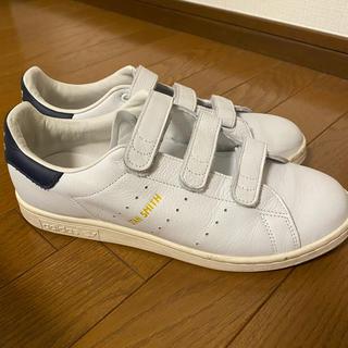 adidas - adidas ベルクロ スーパースター 26.5cm ネイビー