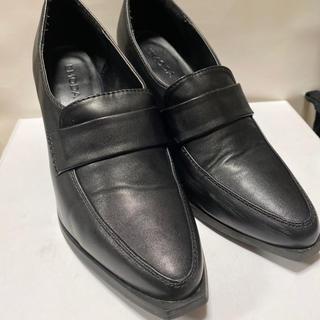 エモダ(EMODA)のEMODA スクエアカットローファー(ローファー/革靴)