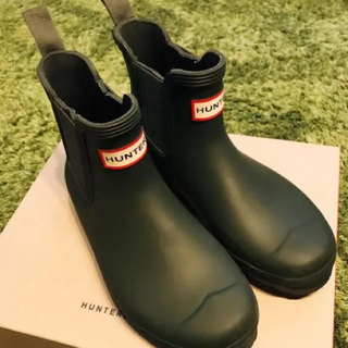 ハンター(HUNTER)のHUNTER 24.0cm レインブーツ ショートブーツ(レインブーツ/長靴)