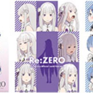カドカワショテン(角川書店)の一番くじ Re:ゼロから始める異世界生活-物語は、To be continued(キャラクターグッズ)