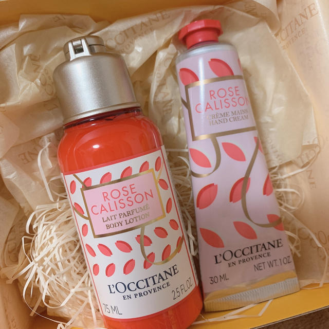 L'OCCITANE(ロクシタン)のロクシタン ローズカリソン ボディミルク&ハンドクリーム コスメ/美容のボディケア(ボディクリーム)の商品写真