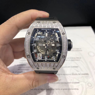 ROLEX - リシャールミル RM010 WG 純正ダイヤ 2014年ギャラ完備