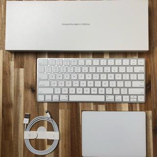 マック(Mac (Apple))のMagic Trackpad 2 , Magic Keyboard - US(PC周辺機器)
