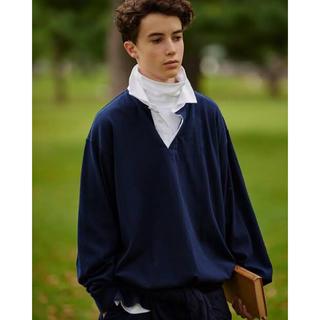 ビームス(BEAMS)の【期間限定】polo beams販売品 久米繊維 ビッグタートルネック(ポロシャツ)