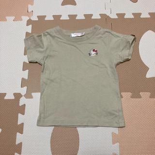 ハローキティ(ハローキティ)の美品❤︎キティちゃん 半袖Tシャツ サイズ90(Tシャツ/カットソー)