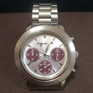 agnes b. - agnes.b 腕時計 V654-6100 稼働品