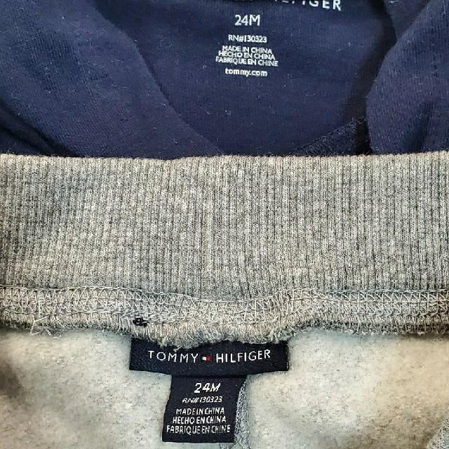 TOMMY HILFIGER(トミーヒルフィガー)の未使用に近い!TOMMY  ロンT セットアップ キッズ/ベビー/マタニティのキッズ服男の子用(90cm~)(Tシャツ/カットソー)の商品写真