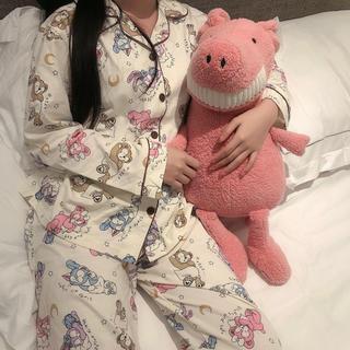 ダッフィー(ダッフィー)の日本未発売 ダッフィーフレンズ パジャマ ルームウェア Lサイズ ラス1 (パジャマ)
