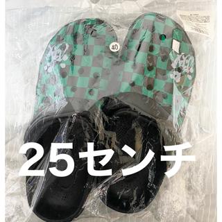 鬼滅の刃 クロックス 炭治郎カロー 25センチ