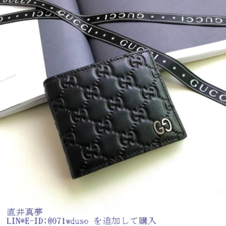 Gucci - グッ.チ 美品 ღ ☆→財布 GG