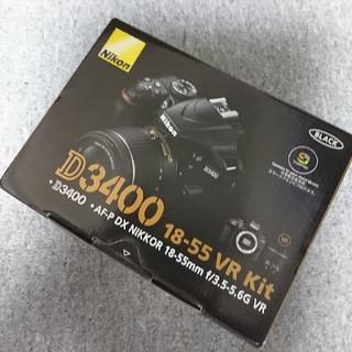 Nikon - 【新品】Nikon D3400 18-55 VR レンズキット BLACK