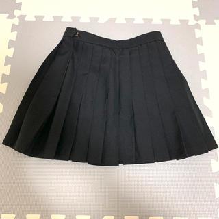 制服 夏用 ミニスカート 黒 W66 丈35