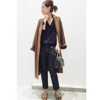 L'Appartement DEUXIEME CLASSE - L'Appartement cashmere wool Relax Coat◆