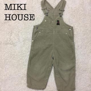 mikihouse - ミキハウスコーデュロイオーバーオール美品