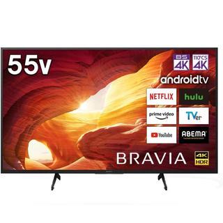 BRAVIA - 新品未開封 ソニー ブラビア 4K液晶テレビ 55V型 KJ-55X8000H