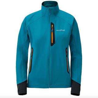 モンベル(mont bell)のモンベル クラッグジャケット アウター レディース  ブルー 未使用 L 秋 冬(その他)