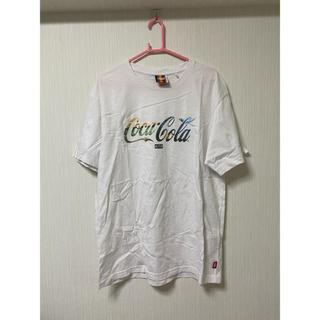 シュプリーム(Supreme)のKITH x Coca-Cola SS Tee white (Tシャツ/カットソー(半袖/袖なし))
