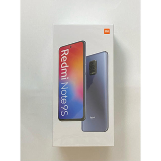 ANDROID - 【新品未開封】Xiaomi Redmi Note 9S 64GB