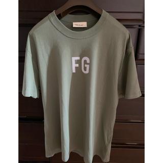 FEAR OF GOD - 新品タグ付きFEAR OF GOD  FG'  Logo Tシャツ/サイズS