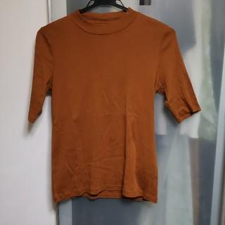 GU - GU ハイネックTシャツ