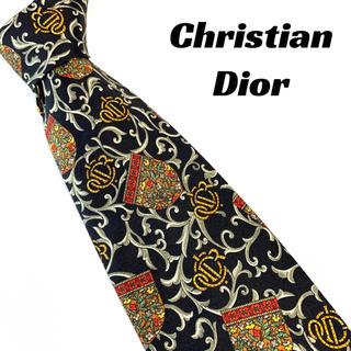 Christian Dior - 【1494】美品!Dior ディオール ネクタイ 総柄