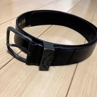 DIESEL - DIESEL ベルト メンズ レザー ブラック