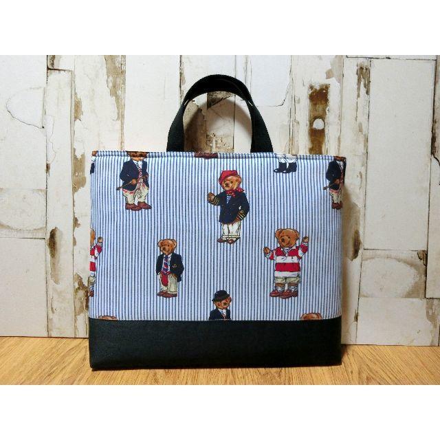 ラルフローレン ポロベア レッスンバック・絵本バック キッズ/ベビー/マタニティのこども用バッグ(レッスンバッグ)の商品写真
