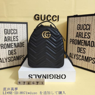 Gucci - GG◐ Marmont リュック