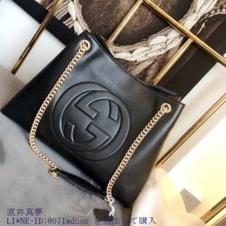 Gucci - SOHO ショル-ダ◔バッグ  GG ✓√✓√