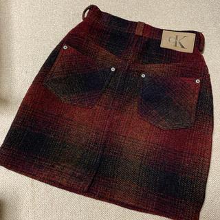 カルバンクライン(Calvin Klein)のCK ツイードミニスカート(ミニスカート)