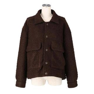 リエンダ(rienda)の新品タグ付き完売品❗️シスリス Loop bouclé knit jacket (その他)
