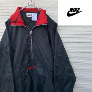 ナイキ(NIKE)のナイキ ハーフジップ Nike 白タグ 90s(ナイロンジャケット)