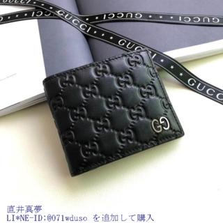 Gucci - グッ.チ 美品  ☆→財♤布 GG