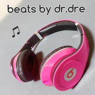 ビーツバイドクタードレ(Beats by Dr Dre)の美品!Beats by Dr.Dre 有線ヘッドホン ピンク(ヘッドフォン/イヤフォン)