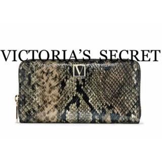 ヴィクトリアズシークレット(Victoria's Secret)のヴィクトリアシークレット新品Python長財布新作(財布)