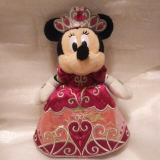 Disney - ディズニー 2007年プリンセスデイズ ミニー ぬいぐるみバッジ