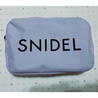 スナイデル(snidel)のsweet 5月号 特別 定価¥1080 付録 ロゴ ポーチ 小  紫のみ!1点(ポーチ)