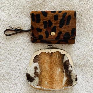 トゥモローランド(TOMORROWLAND)のハラコミニ財布セット 美品(財布)