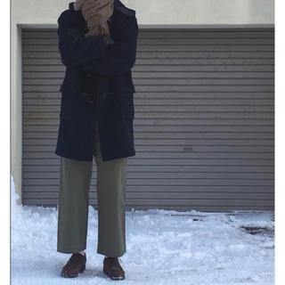 COMOLI - オーラリー 18AW WASHED FINX CHINO WIDE PANTS