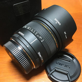 SIGMA - SIGMA 30mm F1.4 EX DC PENTAX ペンタックス用 良品