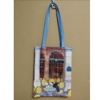 ハローキティ(ハローキティ)のハローキティ リサとガスパール 手提げ袋 ハンドバッグ トートバッグ(トートバッグ)