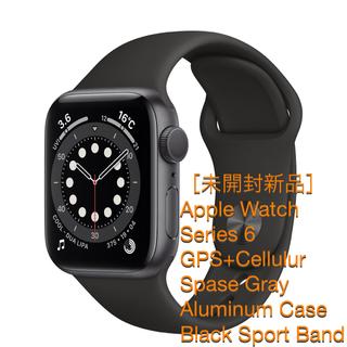 アップル(Apple)のApple Watch 6 44mm GPS+Cellular [新品・未開封](腕時計(デジタル))