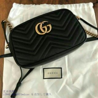 Gucci - GG Marmontショルダ♤-バッグ